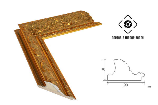 PMB-100 Cinnamon Gold - Portable Mirror Booth
