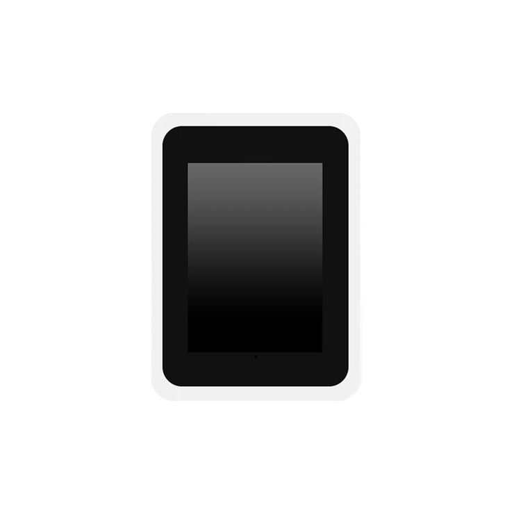 Mini Nimbus Black Frame iPad Roaming Booth Shell Enclosure