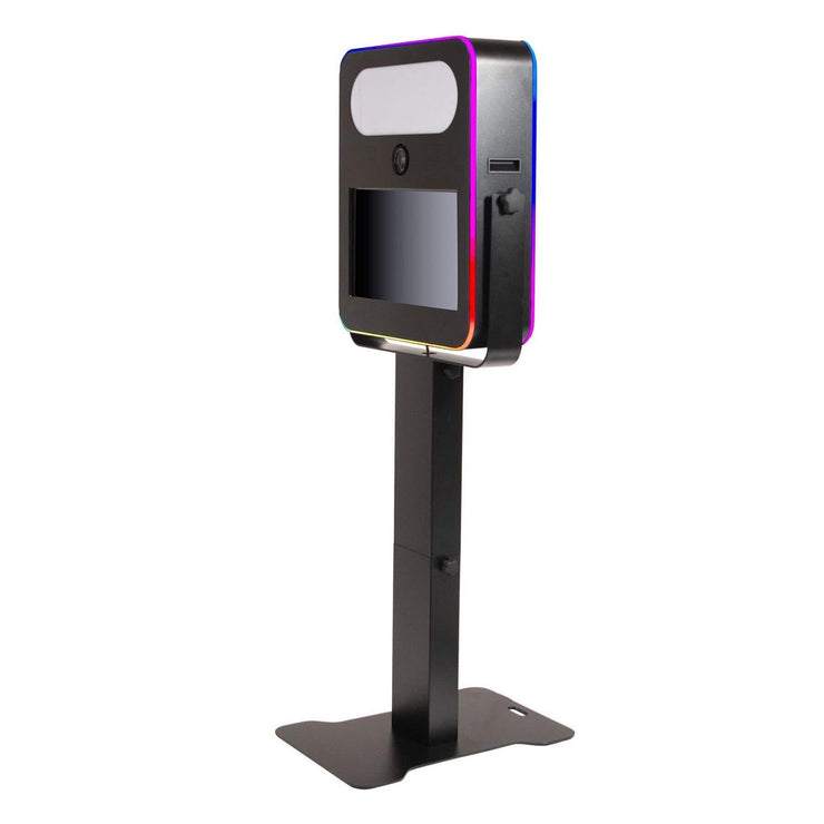 T20R (Razor) Black Frame LED Photo Booth Shell