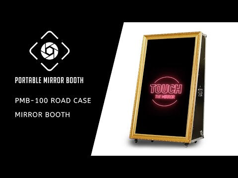PMB-100 Road Case Mirror Booth Starter Package
