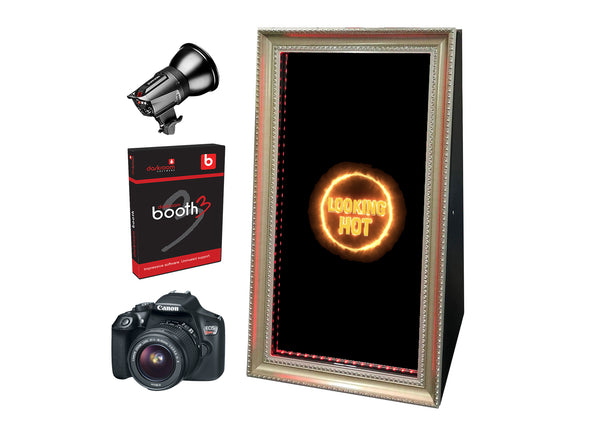 PMB-400 Foldable Mirror Booth Starter Package