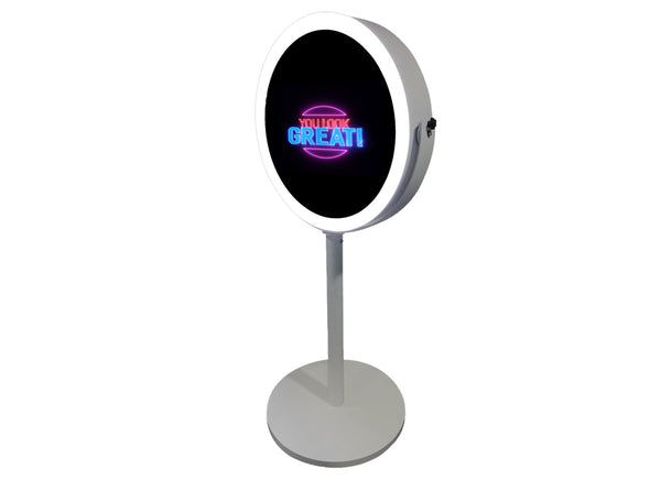 PMB-500 Round Mirror Booth DIY Package - Portable Mirror Booth