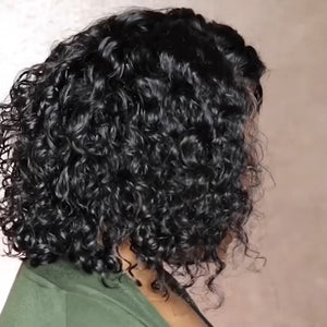 Special OFF | 2019 Classic Fashion Curly Bob wig