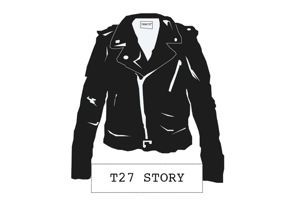 Welcome to Tribute27.  Handmade premium leather jackets – designed with love and crafted with passion. T27 pays homage to the legends of the Club 27 whilst spreading the feeling of freedom - one leather jacket at a time.