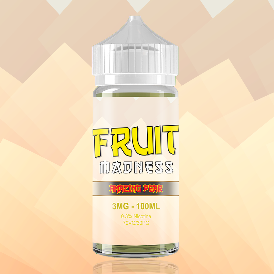AMAZING PEAR by FRUIT MADNESS ELIQUIDS 100ml
