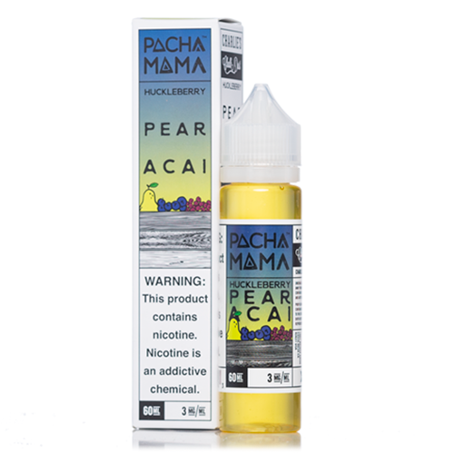 HUCKLEBERRY PEAR ACAI BY PACHA MAMA 60ml