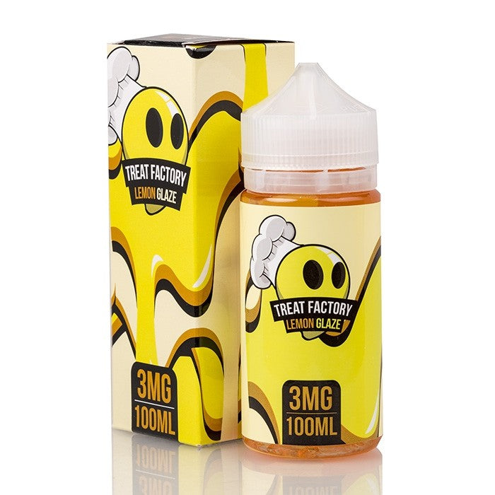 LEMON GLAZE - TREAT FACTORY E-LIQUID - 100ML