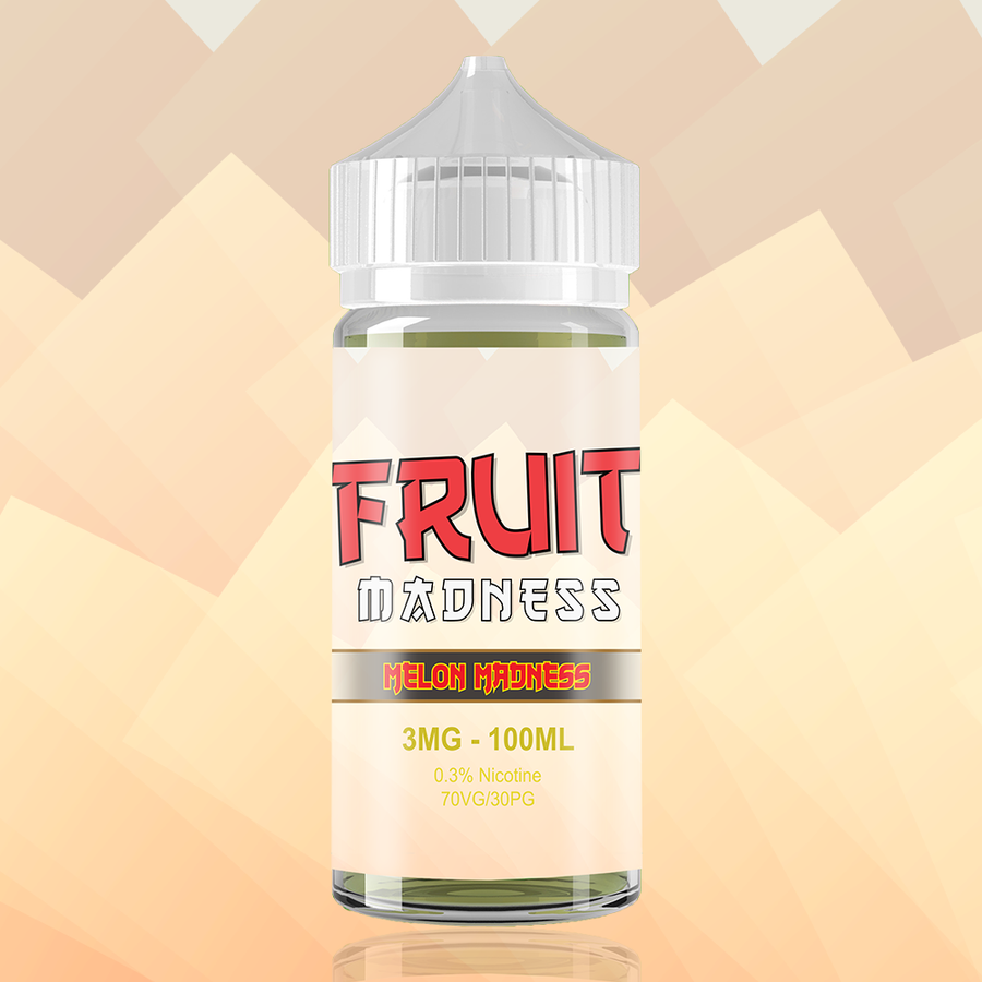 MELON MADNESS by FRUIT MADNESS ELIQUIDS 100ml