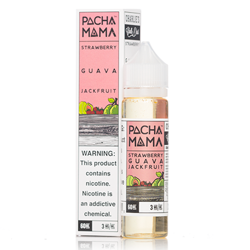 STRAWBERRY GUAVA JACKFRUIT by PACHA MAMA 60ml