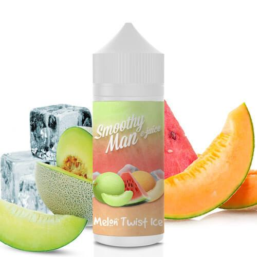 MELON TWIST ICE 120ML BY SMOOTHY MAN E-JUICE