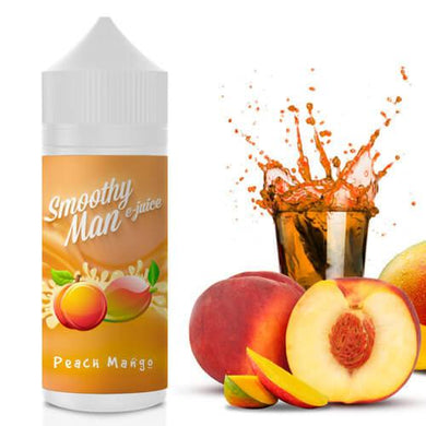 PEACH MANGO 120ML BY SMOOTHY MAN E-JUICE