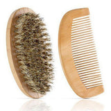 Boar Hair brush and wood comb