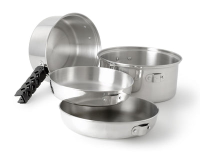 GSI Glacier Stainless Cookset Medium