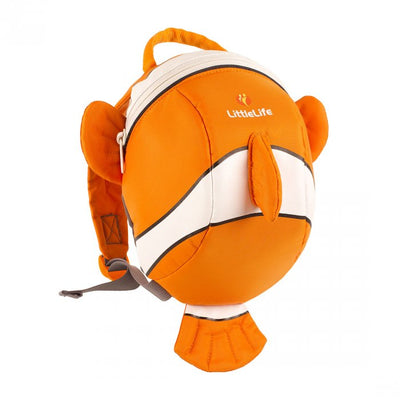 LittleLife Clownfish Toddler Backpack with Rein