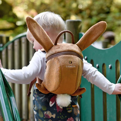 LittleLife Bunny Rabbit Toddler Backpack with Rein