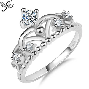 Classic S925 Pure Silver Crown Ring