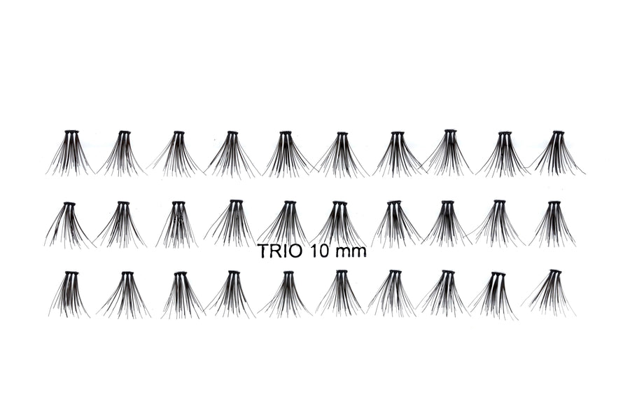 Trio Cluster Lashes available in 10mm/12mm/14mm