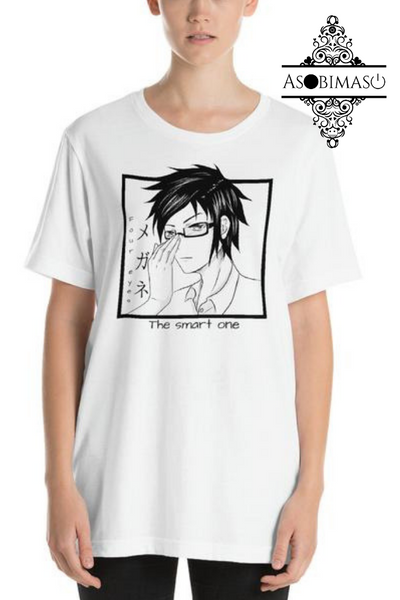 Four eyes, the smart one - Unisex T-Shirt - Asobimasu™