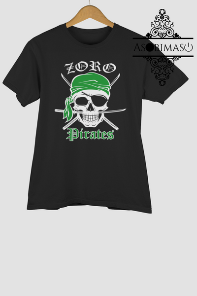 Zoro pirates - Short-Sleeve Unisex T-Shirt - Asobimasu™