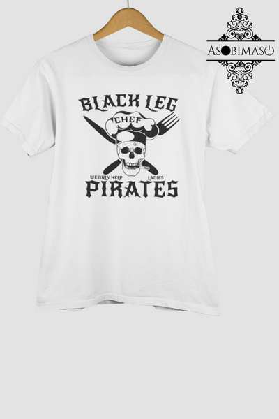 Black leg Pirates - Short-Sleeve Unisex T-Shirt - Asobimasu™