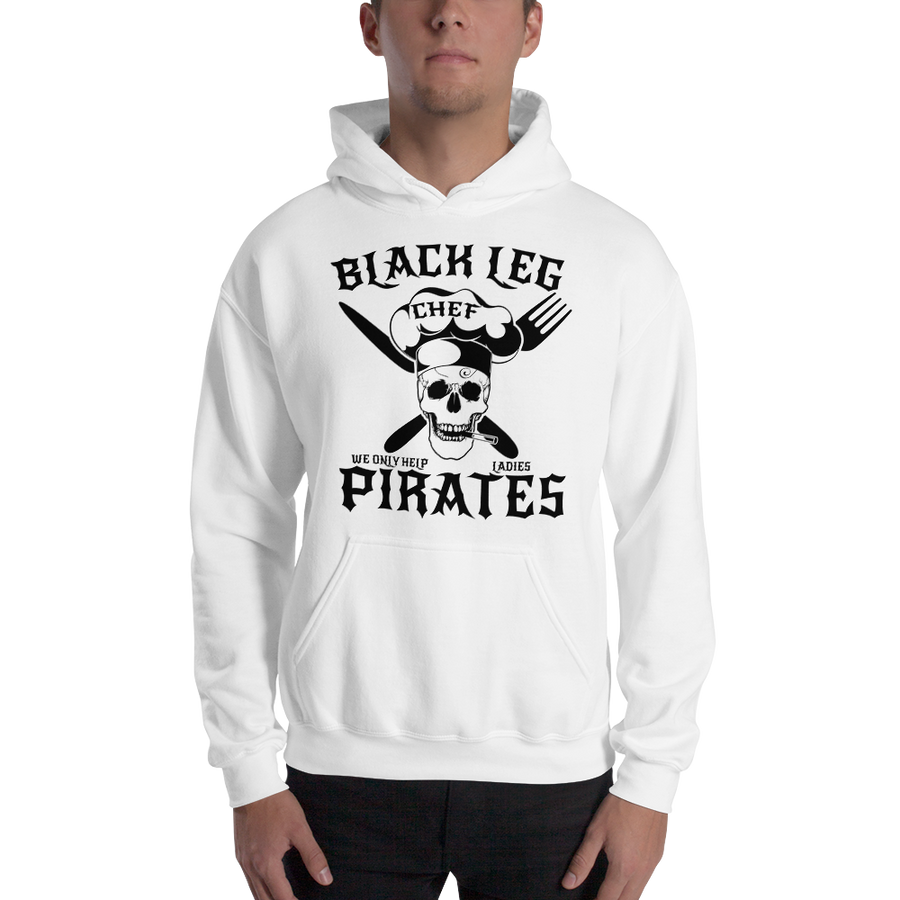 Black leg Pirates - Hooded Sweatshirt