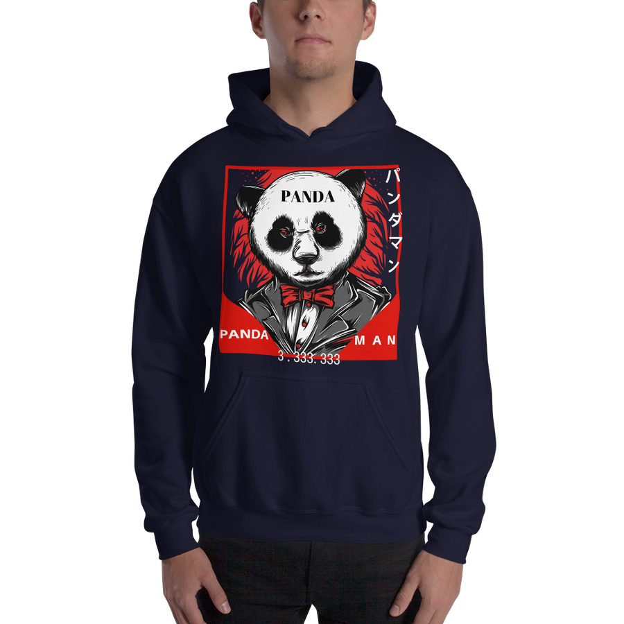 Pandaman - Hooded Sweatshirt