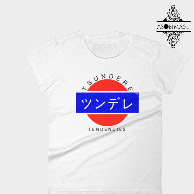 Tsundere - Women's short sleeve t-shirt
