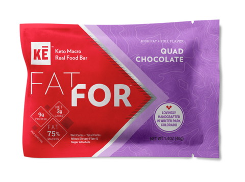 Quad Chocolate Keto Bar