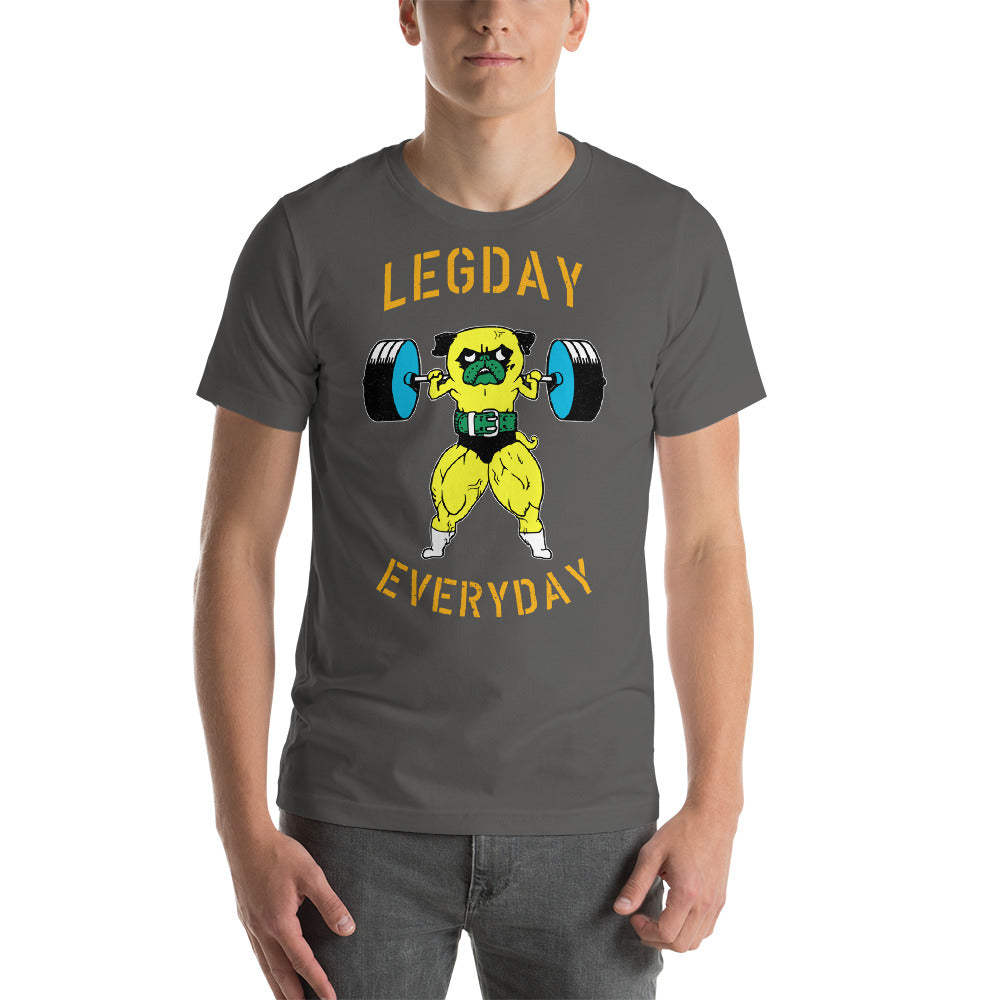 Legday Everyday Short-Sleeve Unisex T-Shirt