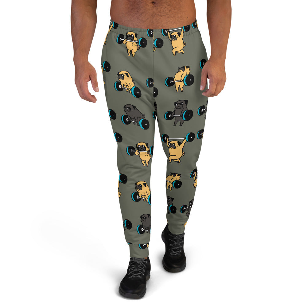 Olympic Lifting Pugs Men's Joggers