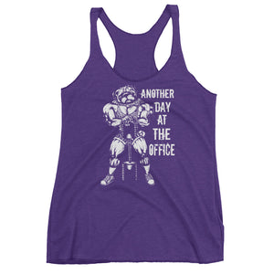 Another Day At The Office Women's Racerback Tank