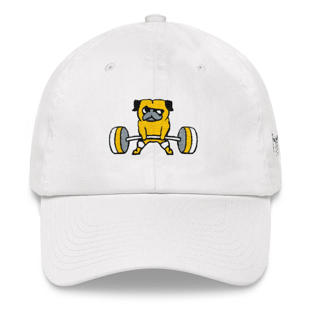 Pug Deadlift Dad hat