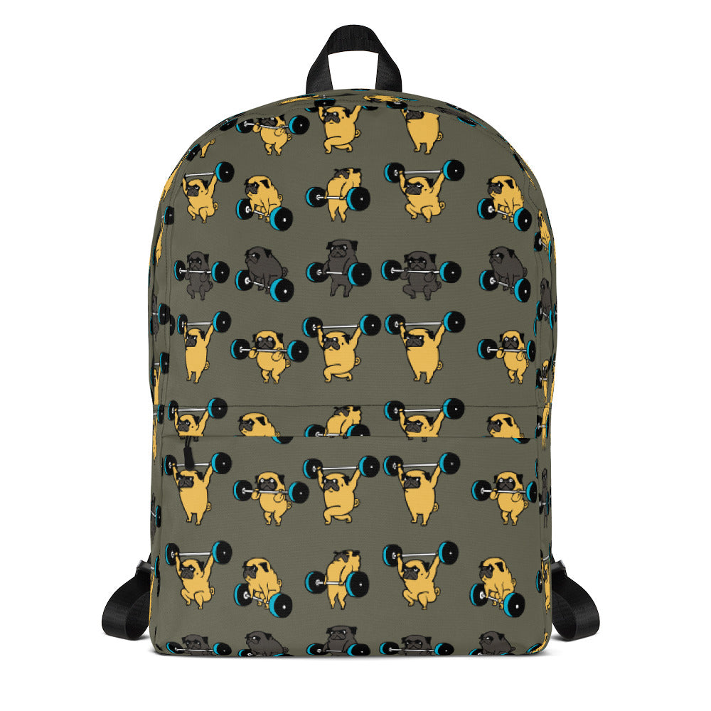 Olympic Lifting Pug Backpack