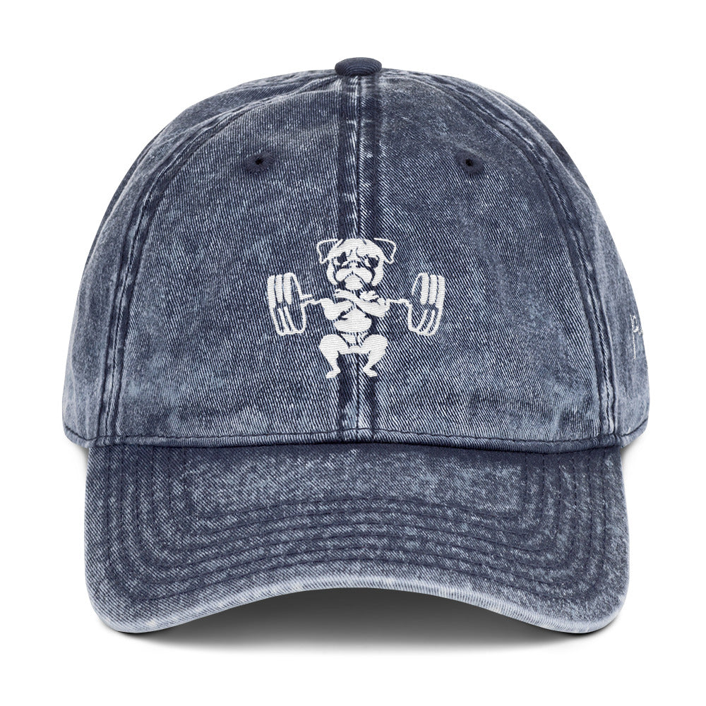Pugsgym Vintage Cotton Twill Cap