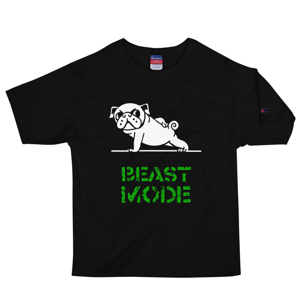 Beast Mode Pug Men's Champion T-Shirt