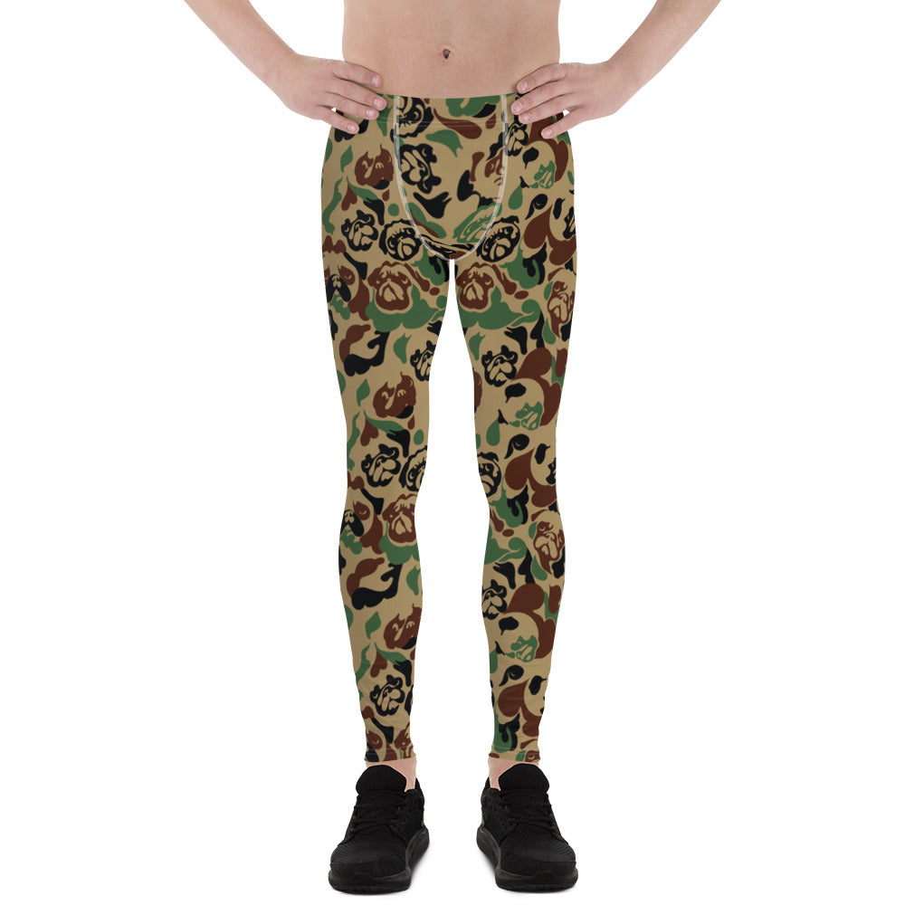 Pug Camouflage Men's Leggings