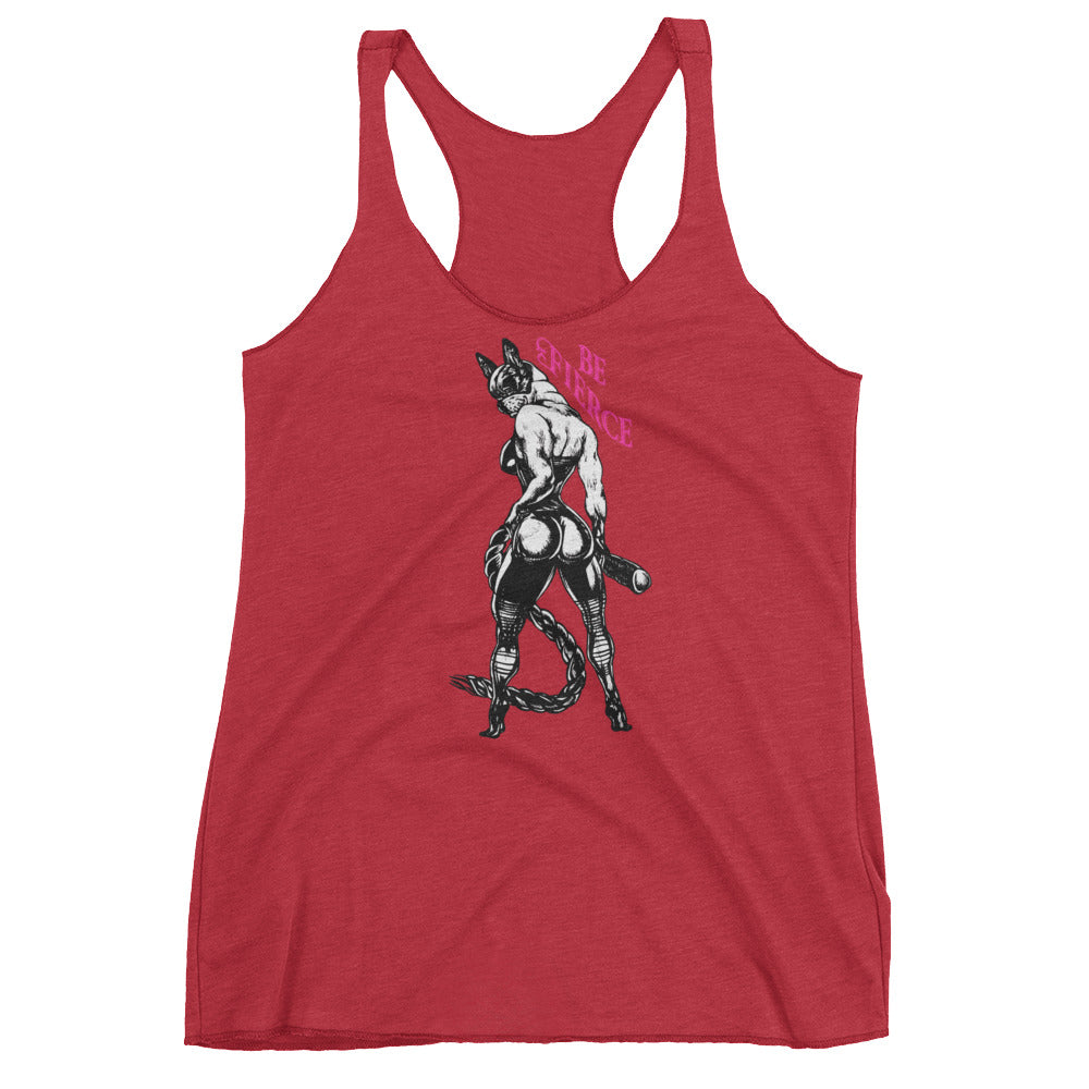 Be Fierce Women's Racerback Tank