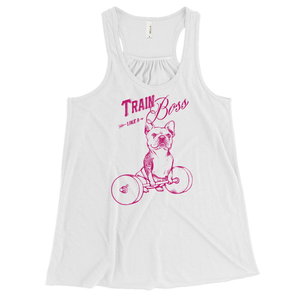 Train like a Boss Women's Flowy Racerback Tank