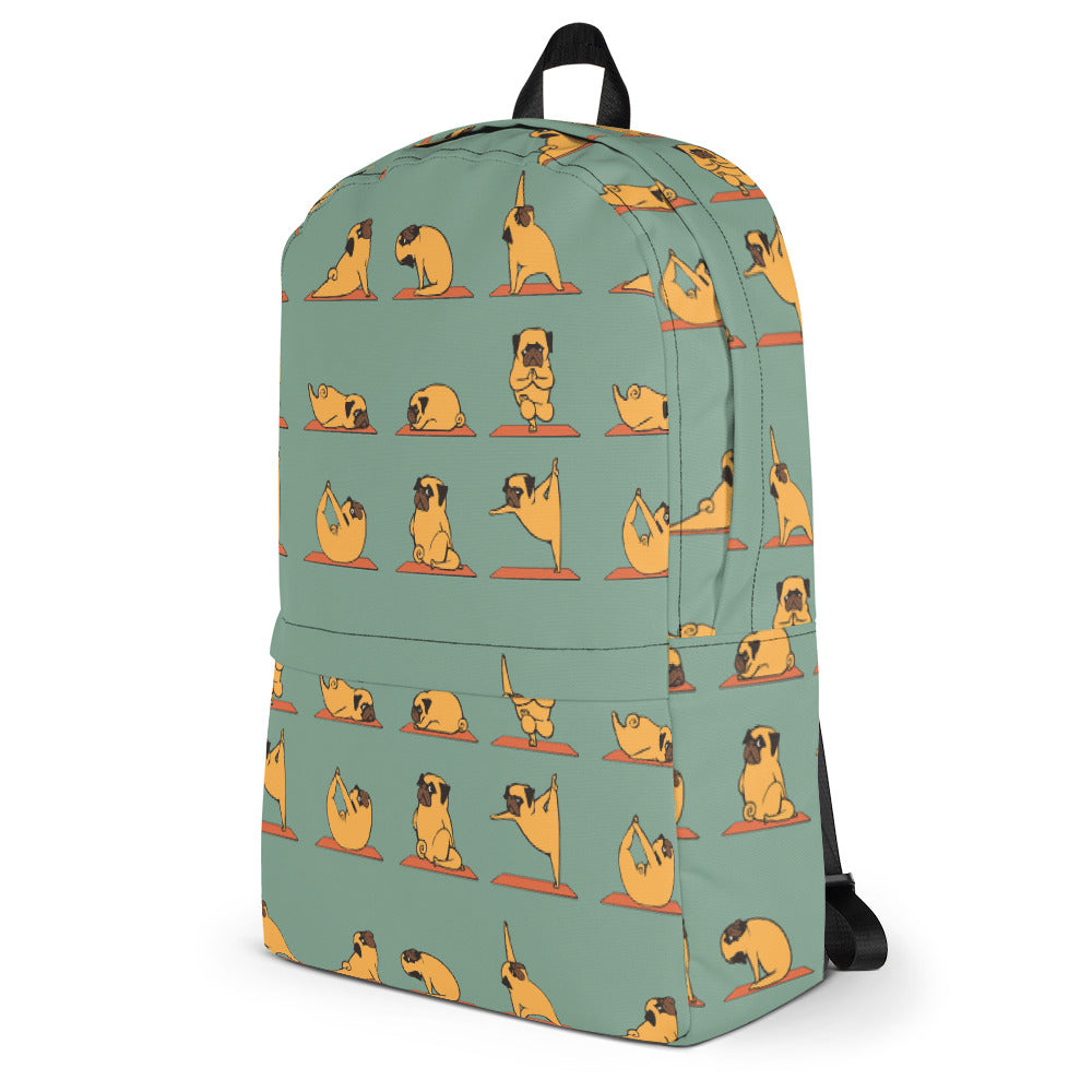 Pug Yoga Backpack