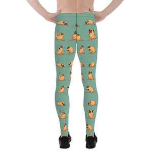 Pug Yoga Men's Leggings
