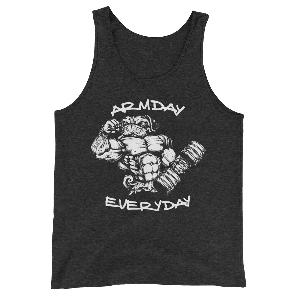 Arm Day Everyday Unisex  Tank Top