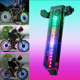 M 16 Double 30 Patterns Bicycle Wheel Led Bike Light (COD)