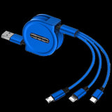 M 3 In 1 Telescopic Data Line(COD) - Yinaje