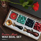 M Custom-Made Wax Seal Set(COD) - Yinaje