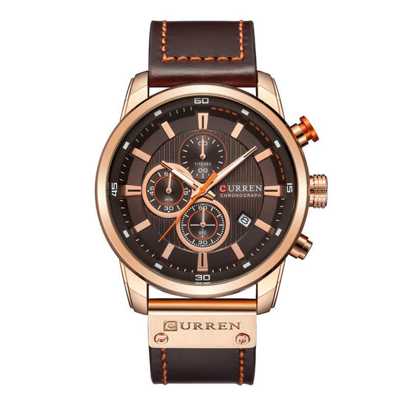 M CURREN High Quality Strap Calendar Watch(COD) - Yinaje