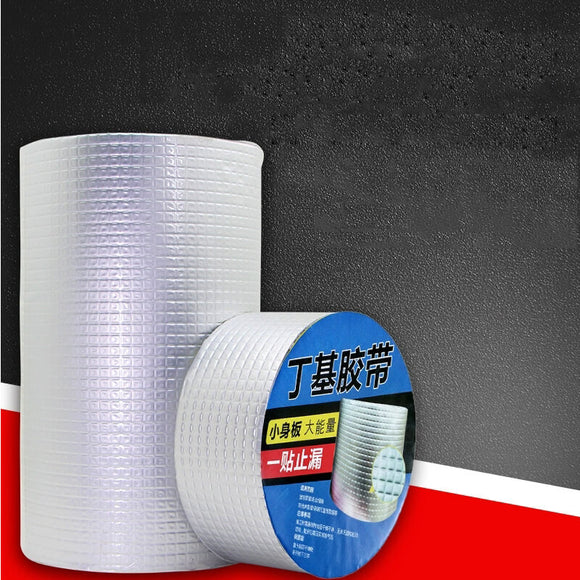 T Aluminum foil waterproof Leak-repair butyl seal tape【Two-piece】(COD) - Yinaje