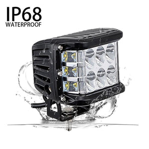 S 4 Inch Work Cube Side Shooter LED Light Bar(COD)