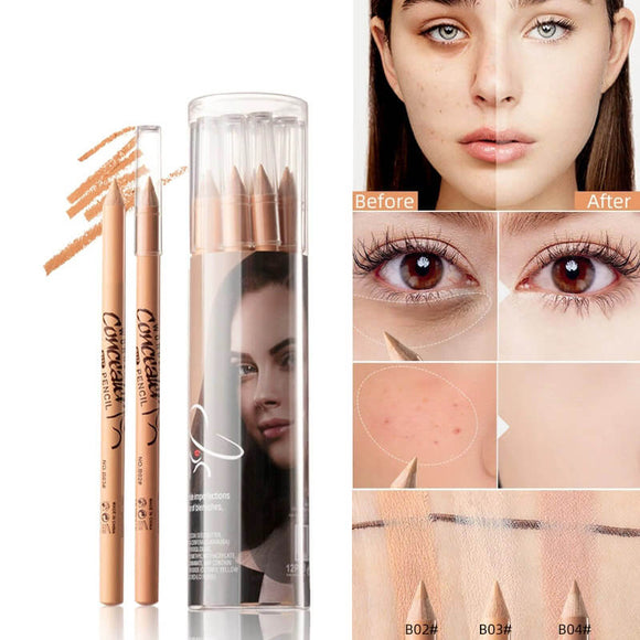 M 12PCS/SET Waterproof Three-dimensional Concealer Pen(COD) - Yinaje