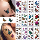 M Temporary 3D Tattoos 10 pcs/Set (Cash On Delivery) - Yinaje