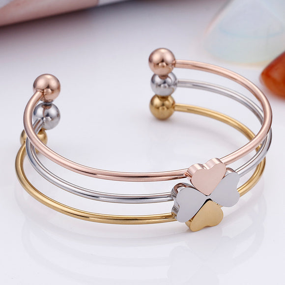M 3 In 1 Personalized Heart-shaped Combinable Detachable Bracelets(COD)